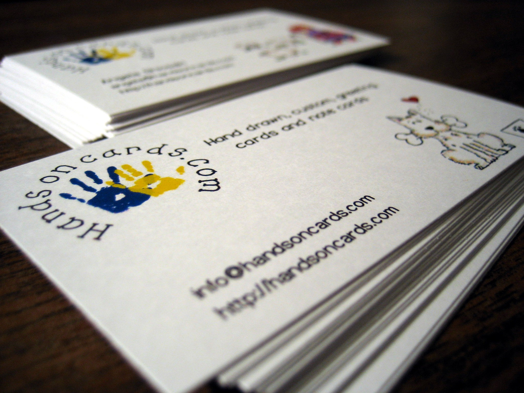 Custom Printed Business Cards Specials